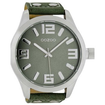 OOZOO Large Τimepieces Green