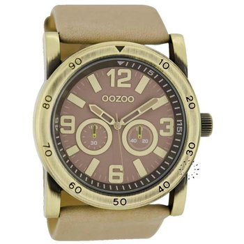 OOZOO Gold Timepieces Beige