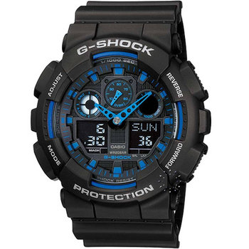 CASIO G-Shock Anadigi Black
