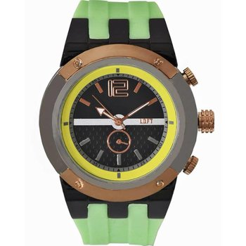 LOFT Ladies Green Rubber Strap