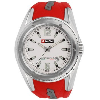 LOTTO Mens Red Rubber Strap