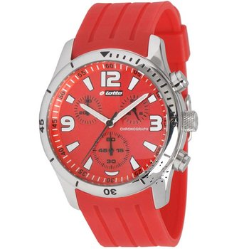 LOTTO Chronograph Red Rubber