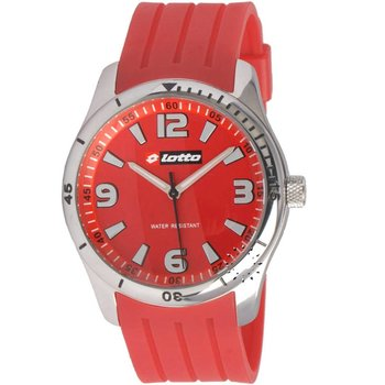 LOTTO Sport Red Rubber Strap