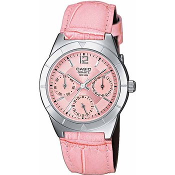 CASIO Collection Pink Leather