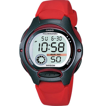 CASIO Collection Digital Red
