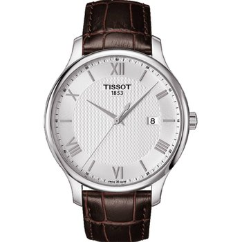 TISSOT Mens Tradition Brown