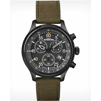 TIMEX Black Dial Brown