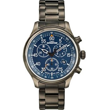 TIMEX Blue Dial Stainless
