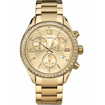 TIMEX Crystal Gold Ladies