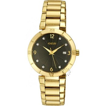 OZZI Crystal Gold Stainless