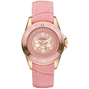COLORI Ladies Rose Gold Pink
