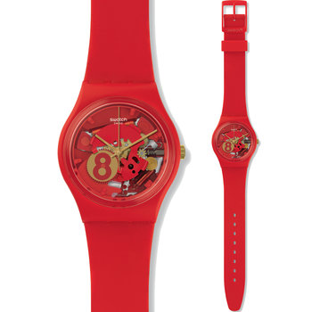 SWATCH Floralia Eight For