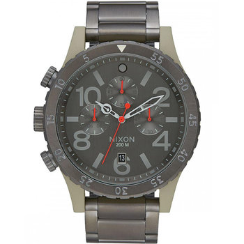 NIXON 48-20 Chrono Black