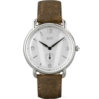 REC Cooper Brown Leather Strap