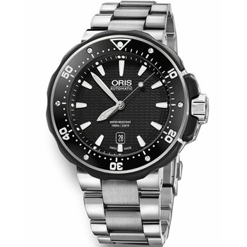 ORIS ProDiver Date Stainless