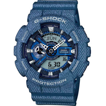 CASIO G-Shock Anadigi Blue