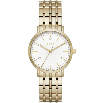 DKNY Minetta Gold Stainless