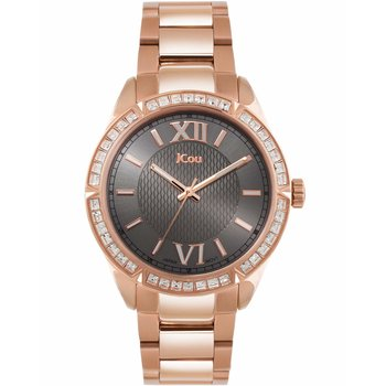 Jcou Star Rose Gold Stainless
