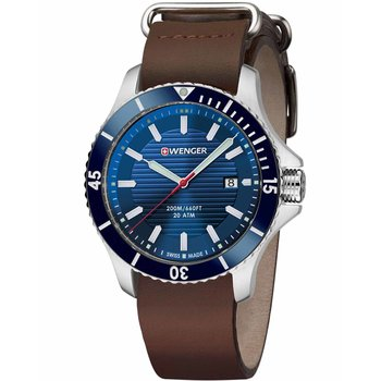 WENGER Seaforce Brown Leather