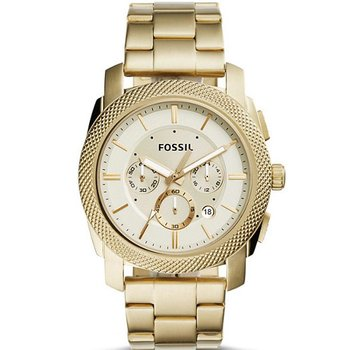 FOSSIL Machine Gold Stainless