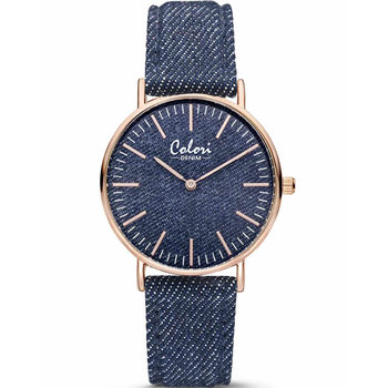 COLORI Denim Blue Fabric Strap
