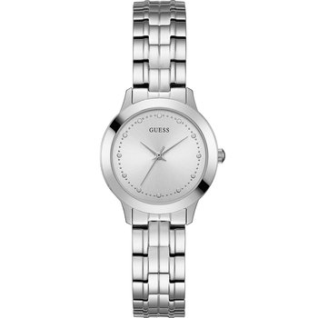 GUESS Silver Stainless Steel
