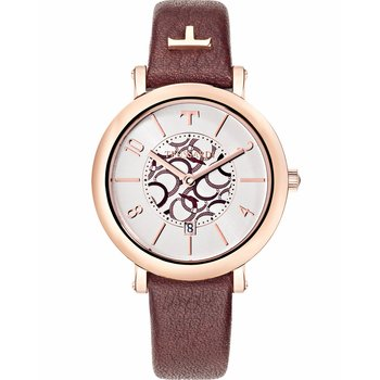 TRUSSARDI Lady Brown Leather
