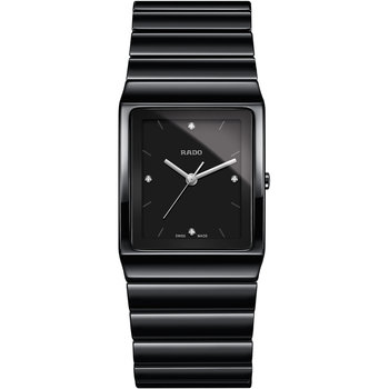 RADO Ceramica Diamonds Black