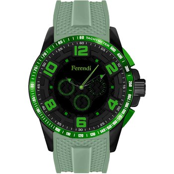 FERENDI Rebel Green Leather