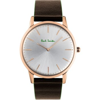 PAUL SMITH Brown Slim Leather