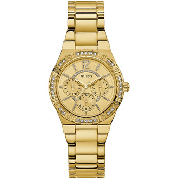 GUESS Ladies Crystals Gold