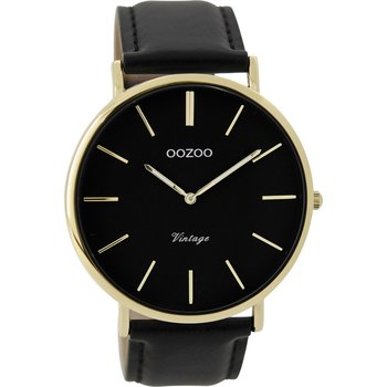 OOZOO Vintage Black Leather
