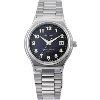 ORIENT Mens Silver Stainless