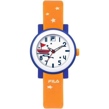 FILA Kids Orange Rubber Strap