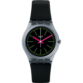 SWATCH Vibe Fluo Loopy Black