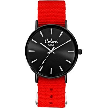 COLORI xoxo Red Fabric Strap