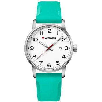 WENGER Avenue Light Green Silicone Strap