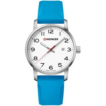 WENGER Avenue Light Blue Silicone Strap