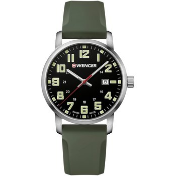 WENGER Avenue Olive Green Silicone Strap