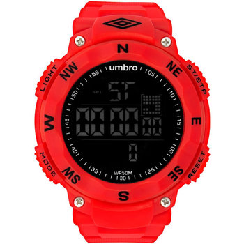 UMBRO Sport Chronograph Red Rubber Strap