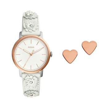 FOSSIL Neely White Leather