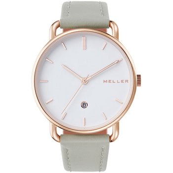 MELLER Denka Roos Grey Leather Strap