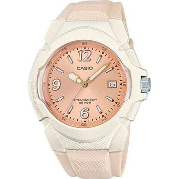 CASIO Collection Beige Rubber