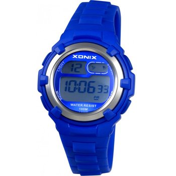XONIX Chronograph Blue Rubber