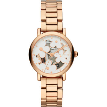 MARC JACOBS Classic Rose Gold Stainless Steel Bracelet