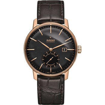 RADO Coupole Automatic COSC Brown Leather Strap