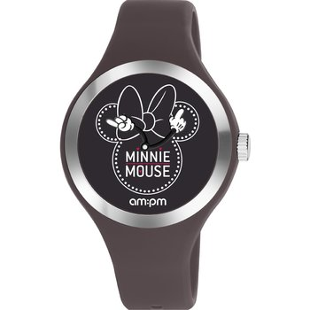 AM:PM Disney Grey Rubber Strap