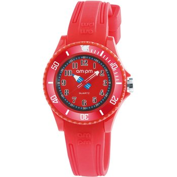 AM:PM Kids Red Silicone Strap