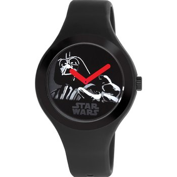 AM:PM STAR WARS Black Rubber Strap