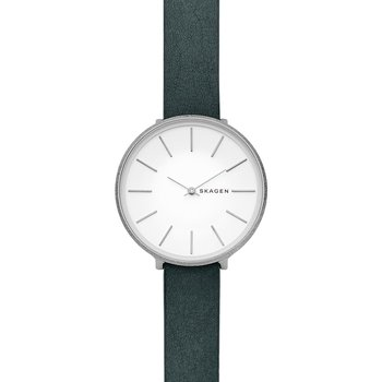 SKAGEN Karolina Green Leather